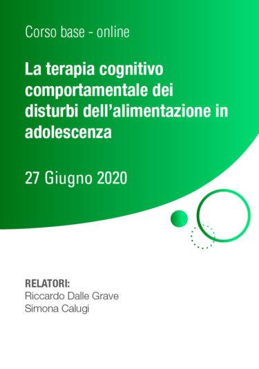 La terapia cognitivo comportamentale dei disturbi dell'alimentazione in adolescenza