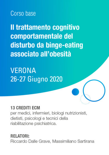 Il trattamento cognitivo comportamentale del disturbo da binge-eating associato all'obesità