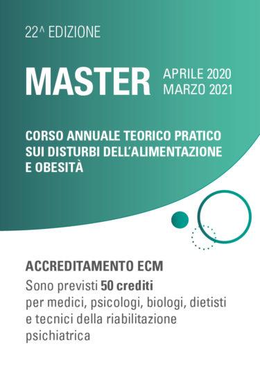 Master – Terapia e prevenzione dei disturbi dell'alimentazione e dell'obesità