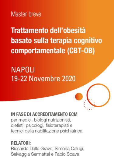 Master breve – Trattamento dell'obesità basato sulla terapia cognitivo comportamentale (CBT-OB)
